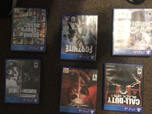Games ps4 10 dollars or all got 50 for Sale in Santee, CA