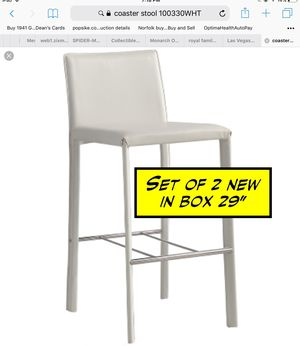 """Set of 2 stools - New in box - 29"""" high seat for Sale in Norfolk, VA"""