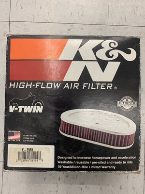 KN Air Filter E-3985 Harley Davidson K&N Authentic BRAND NEW V Twin vtwin Cruiser for Sale in Fontana, CA
