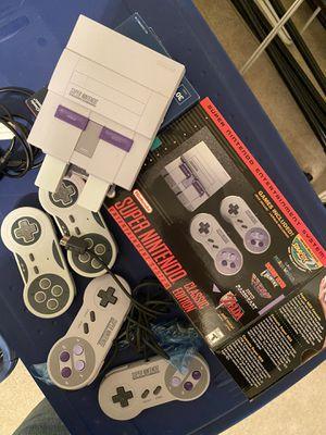 Super Nintendo Classic Edition for Sale in Manassas Park, VA