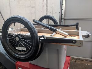 Surly Ted trailer and hitch for Sale in Seattle, WA