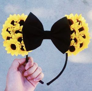Disney Sunflower Minnie Mouse Ears 💛🌻 for Sale in Fontana, CA
