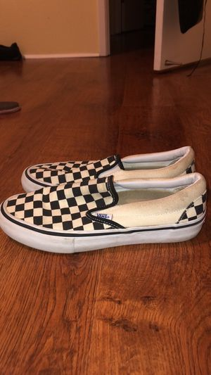 Checkered Slip On Cloud Foam Vans for Sale in Ashland, OR