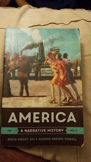 AMERICA . A narrative history Vol 2 (Lone star college) for Sale in Humble, TX