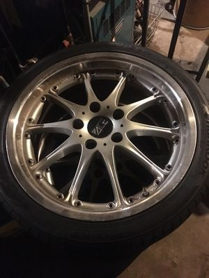 """18"""" tires and rims for Sale in North Providence, RI"""