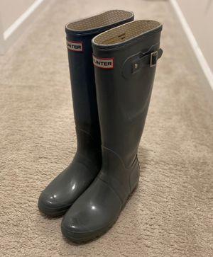 HUNTER Original Tall Gloss Rain Boots (Women's Size 9) for Sale in Stone Ridge, VA
