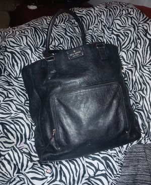 Kate Spade black leather tote bag for Sale in Columbus, OH
