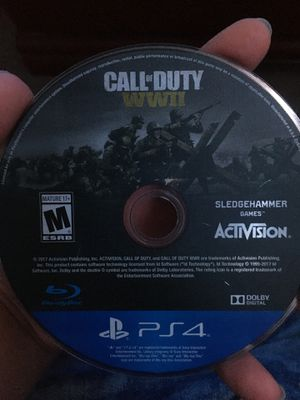 Call of duty ww2 ps4 for Sale in Moreno Valley, CA
