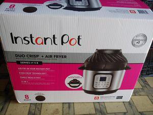 Instant Pot Duo Crisp-Air Fryer for Sale in Loma Linda, CA
