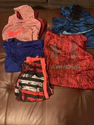 Nike and under armour clothes youth boys for Sale in Bonney Lake, WA