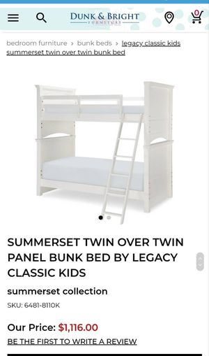 Bunk bed for Sale in High Point, NC
