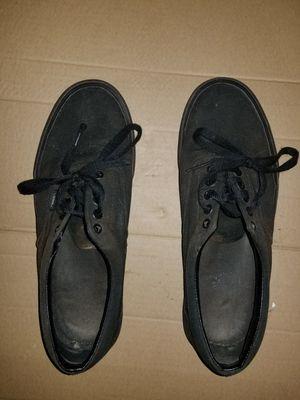 (M-9.5) Black Vans Casual Shoe for Sale in Rockville, MD