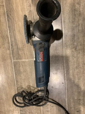 Bosch angle grinder for Sale in San Bernardino, CA
