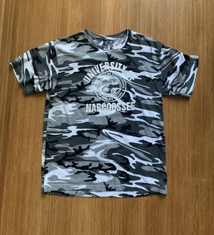 University of Narcoosee Men's Camo Shirt Size Large Code V for Sale in Apopka, FL