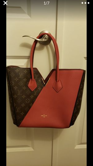 Gorgeous brown and red tote for Sale in Sun City, AZ