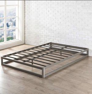 9 Inch Queen Metal Platform Bed Frame (Round Type) for Sale in Augusta, GA