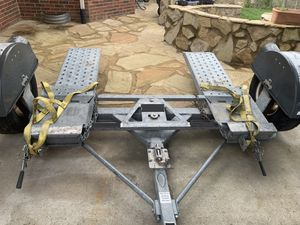 Deluxe Tow Dolly- tilt ramp and swivel with straps for Sale in Knoxville, TN