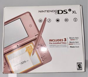 Nintendo DS XL in Pink BRAND NEW for Sale in Richmond, TX