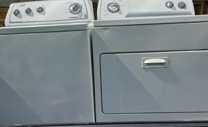 WHIRLPOOL SUPER CAPACITY DRYER AND WASHER for Sale in Smyrna, TN