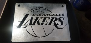 Lakers metal wall decor for Sale in Los Angeles, CA