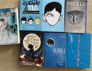 7 bestseller book collection for elementary and middle schoolers for Sale in Sammamish, WA