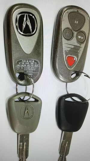 Acura 2006 TSX Original OEM keyless entry FOB remote key rings for Sale in Chicago, IL