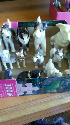 Collective glass dogs for Sale in Fresno, CA