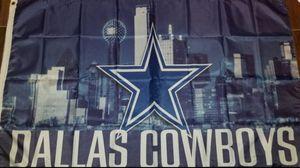 Dallas cowboys 3x5 flag $10 for Sale in Dallas, TX