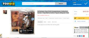 Yogi Berra Action Figure for Sale in Cary, NC