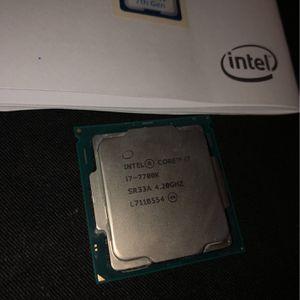 Intel Core I7-7700 4.2GHz Quad Core Processor for Sale in Santa Ana, CA