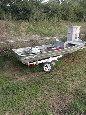 14 ft Grumman Jon Boat for Sale in Concord, NC
