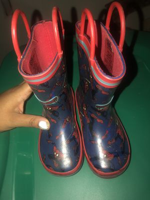 Kids rain boots for Sale in West Orange, NJ