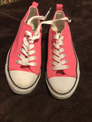 pink Rue 21 converse style shoe for Sale in Sunbury, PA