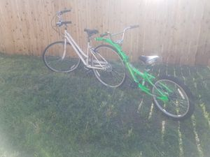 """26"""" bike with co-pilot for Sale in Payson, AZ"""