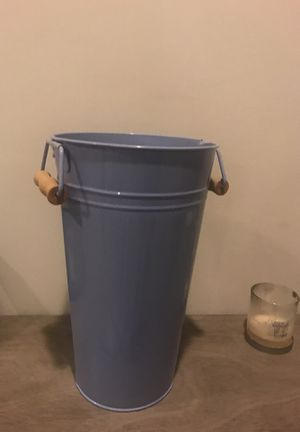 Tall periwinkle bucket for Sale in Alexandria, VA