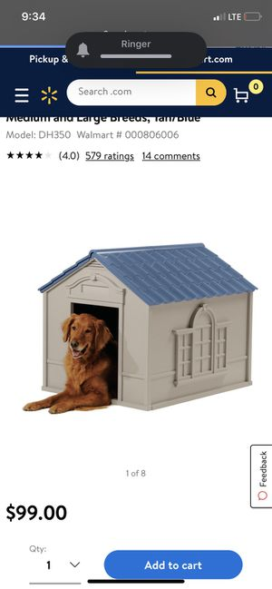 Medium size dog house for Sale in Moreno Valley, CA
