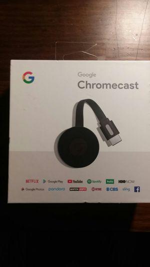 Google Chromecast New! Model: NC2-6A5 for Sale in San Antonio, TX
