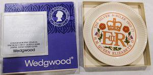 Wedgewood Queen Elizabeth Royal Silver Jubilee Plate for Sale in Westlake, TX