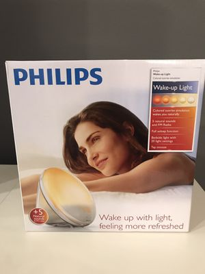Philips Wake-Up Light and alarm clock for Sale in Anaheim, CA