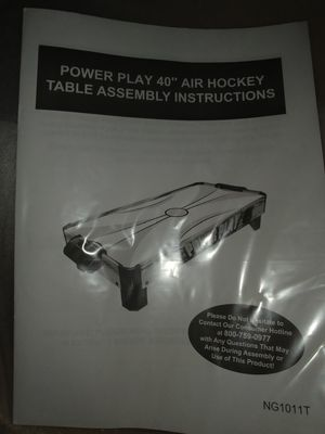 Air hockey table for Sale in Indianapolis, IN