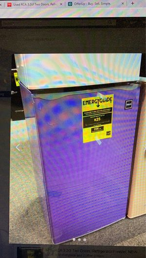 RCA 3.2cf Purple Refrigerator, Small Dent, NEW for Sale in Warrensville Heights, OH