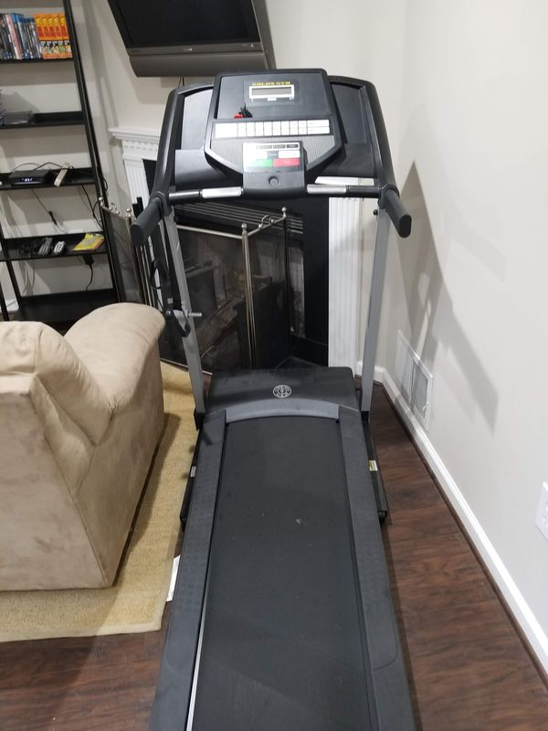 Gold gym treadmill