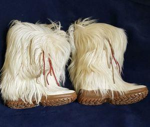Pajar Apres Ski Boots Off White Goat Hair EU 40 for Sale in Sanford, FL