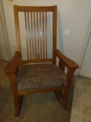 Wooden rocking chair for Sale in South Jordan, UT