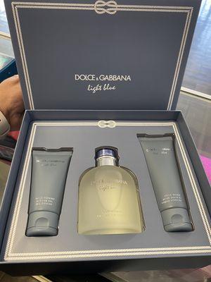 Set Dolce Gabbana Light Blue for men 4.2 edt spy for Sale in Colton, CA
