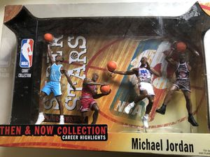 Matel Michael Jordan Then and Now collection Action figures for Sale in Adamstown, MD