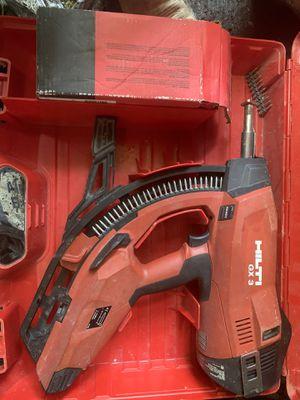 Hilti gx3 nail gas gun for Sale in Coral Gables, FL