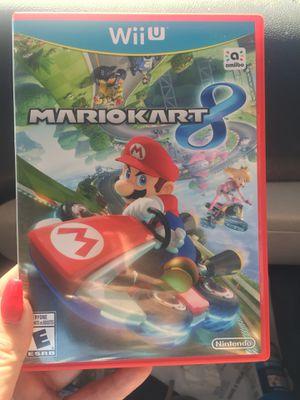 Nintendo Wii U Mario Kart 8 for Sale in Baldwin Park, CA