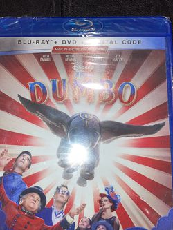"BRAND NEW FACTORY SEALED ""DUMBO"" BLURAY + DVD + DIGITAL CODE for Sale in Ontario,  CA"