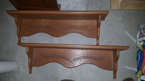 Oak shelves for Sale in St. Peters, MO